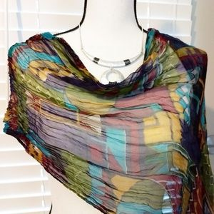 Accessories - Multi Colored Scarf